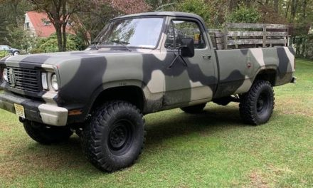 Ex-Airforce:  1977 Dodge M880 CUCV – Sold!