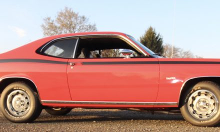 Reserved Parking 10:  SOLD – 1972 Plymouth Duster 340 Clone – SOLD!