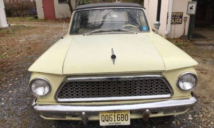 Yellow Bread Box: 1961 AMC Rambler American Custom Convertible – $7,500