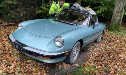 Italian Job:  1984 Alfa Romeo Spider Veloce Series 3 Project – Sold!