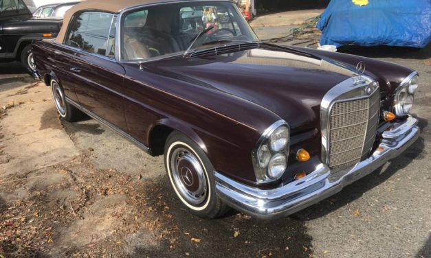 NEW! Award 27: 1967 Mercedes-Benz W112 250 SE Cabriolet – Now $125,000