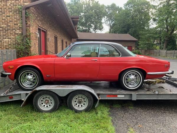 Pillarless Purrer: 1975 Jaguar XJ6C Hardtop - $17,500 ...