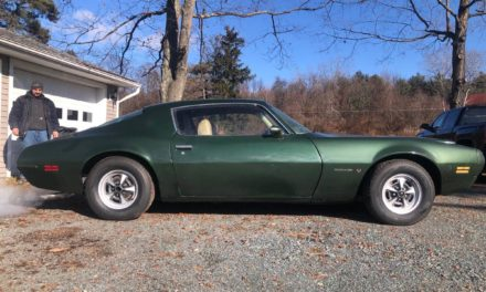 Lost Storage:  1972 Pontiac Firebird Formula 350 – SOLD!