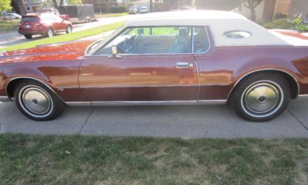 NEW! Award 28:  1973 Lincoln Mark IV 48K Mile Survivor – SOLD!
