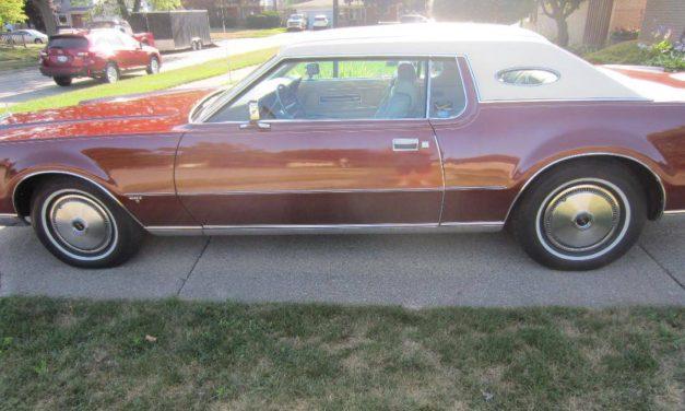 18 Months Gone:  1973 Lincoln Mark IV 48K Mile Survivor – NOW $14,500