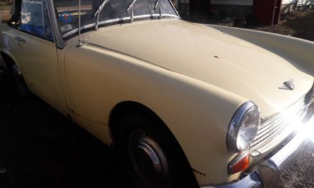 Stored Spridget:  1969 Austin Healey Sprite MK 4 – Sold!