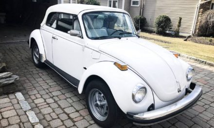 Champagne Edition:  1977 Volkswagen Beetle Convertible – $11,000