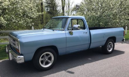 Grandfather's Truck:  1987 Dodge D-150 Ram Pickup – $6,900