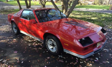 First Five-Speed: 1983 Chevrolet Camaro Z/28 5.0L H.O. – NOW $9,500