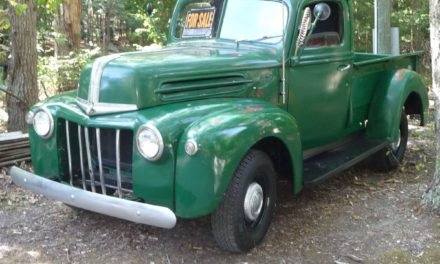 Pseudo Patina:  1947 Ford Pickup Restomod – $16,000
