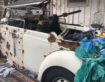 Which Year Is It:  1971 or 1972 Volkswagen Beetle Convertible Project – $600