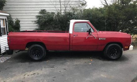 Red Ram:  1983 Dodge Ram 150 Royal SE Pickup – $1,600