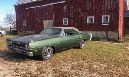 Barnyard Find:  1969 Dodge Coronet RT 440 Automatic Survivor – $26,000