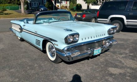 Top-Down Tri-Power:  1958 Pontiac Bonneville Convertible – Sold!