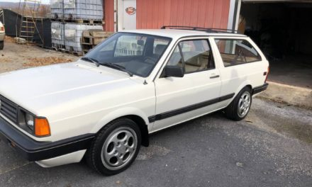 Sly Shooting Brake: 1989 Volkswagen Fox GL Station Wagon – SOLD!