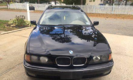 V8 E39:  2000 BMW E39 540i Touring Wagon – $6,500