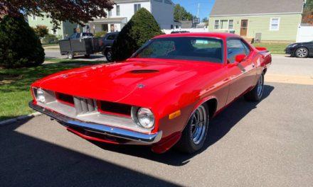 Ooooooo Barracuda:  1973 Plymouth Barracuda Restored – $25,000