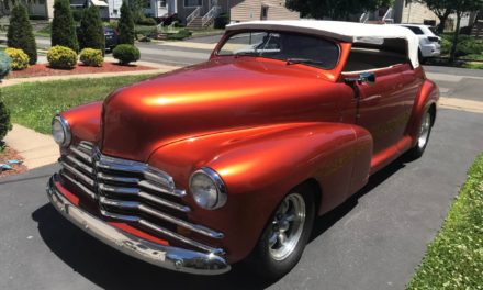 Windowless Roadster:  1948 Chevrolet Fleetmaster Chopped Street Machine – Sold!