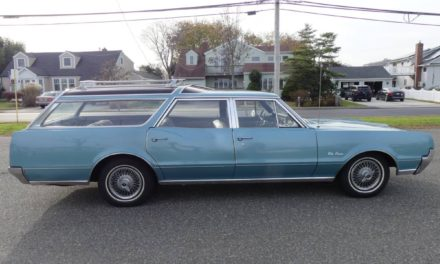 Faux Wood Free:  1967 Oldsmobile Vista Cruiser Three Row Wagon – STILL $13,500