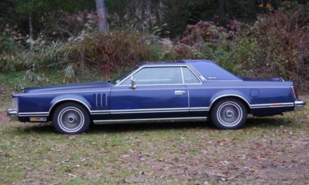 Blue Velour:  1979 Lincoln Continental Mark V 29K Mile Survivor – $7,500