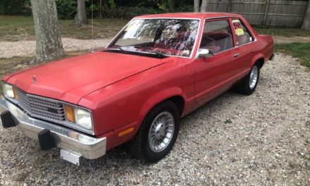First Fox Body:  1979 Ford Fairmont 24K Original Mile Survivor – SOLD!