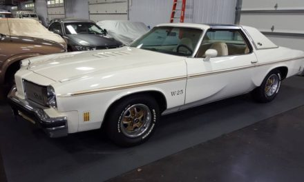 Swivel Seat Survivor:  1975 Oldsmobile Hurst Olds W25 – Sold!