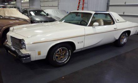 Swivel Seat Survivor:  1975 Oldsmobile Hurst Olds W25 – NOW $15,495
