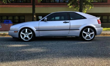 Silver Slick Top:  1992 VW Corrado SLC VR6 – $13,000