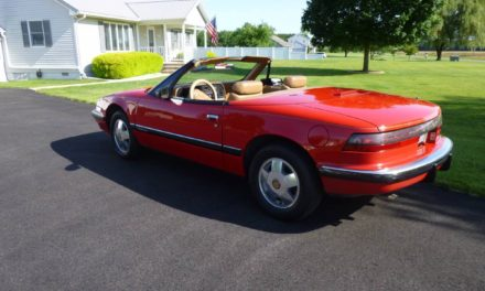 Hand Built:  1990 Buick Reatta Convertible – SOLD!