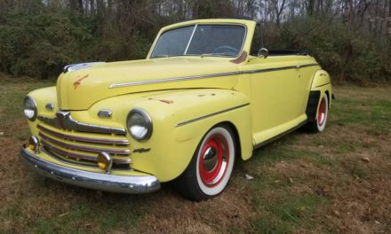New Over Old: 1946 Ford Super Deluxe Convertible Restomod – Sold!