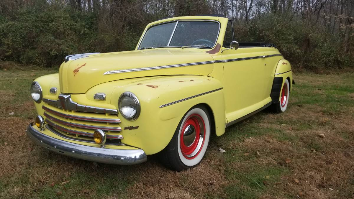 New Over Old 1946 Ford Super Deluxe Convertible Restomod Sold Guyswithrides Com