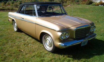 Dutch Droptop: 1963 Studebaker Daytona Convertible – SOLD!