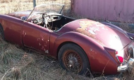 Field Find: 1961 MG MGA 1600 Convertible Project – Sold!