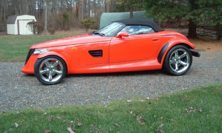 Better Than New: 1999 Plymouth Prowler – Sold!