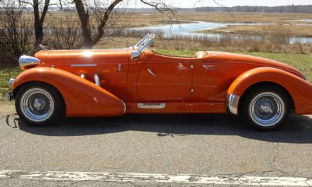 Lincoln In Drag: 1936 Auburn Boat Tail Speedster Replica – Sold!