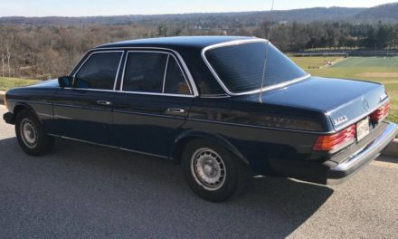 Bulletproof Blue: 1981 Mercedes-Benz W123 240D Four-Speed – SOLD!