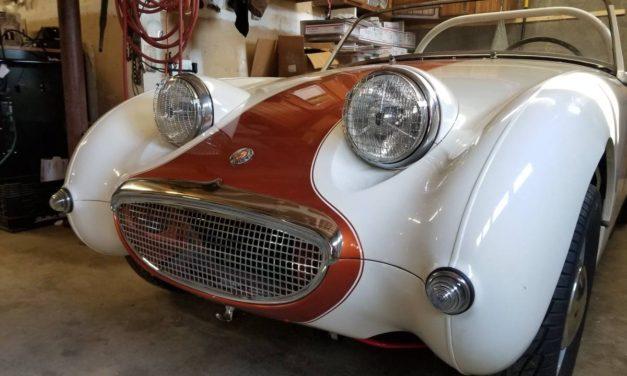 Unboring Bugeye:  1958 Austin Healey Bugeye Sprite Mk 1 – NOW $18,000