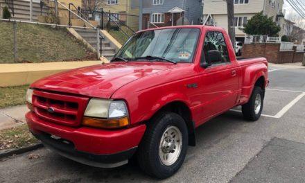 Red Ranger: 1998 Ford Ranger Flareside V6 5-Speed – Sold!