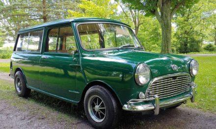 Small Shooting Brake: 1967 Austin Mk 1 Mini Countryman – SOLD!
