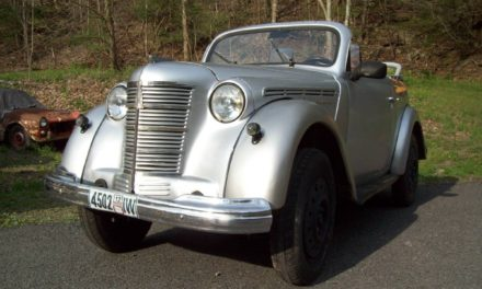 Russian Rat Rod: 1954 Moskvitch 400 – Sold!