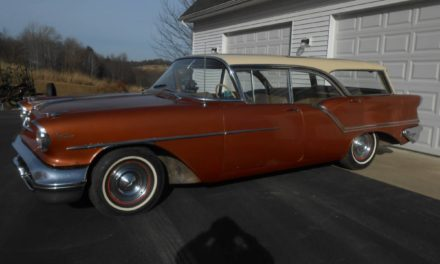 Non-Fisher Body: 1957 Oldsmobile Super 88 Fiesta Four-Door Station Wagon – Sold!