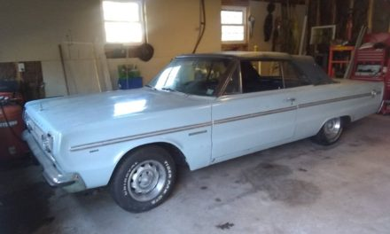 Lost Interest:  1966 Plymouth Belvedere II Convertible Project – SOLD!
