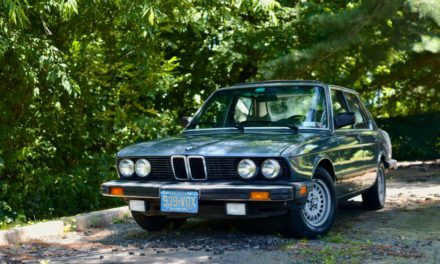 Five Series Survivor:  1983 BMW E28 528E 5-Speed – Sold!