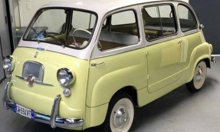Mini Minivan – 1959 Fiat Multipla 600 -Sold!