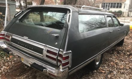 Dire Wolf 2: 1973 Chrysler Town and Country 6-Passenger Station Wagon – NOW $7,500