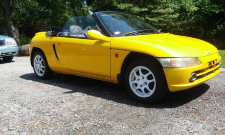 Zippy Zebra:  1991 JDM Honda Beat Right Hand Drive – Sold!
