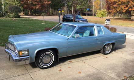 Downsized DeVille:  1979 Cadillac Coupe DeVille Original Owner Survivor – $6,000