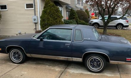Cookie Monster Blue: 1984 Oldsmobile Cutlass Supreme Brougham – Sold!
