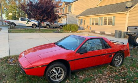 Fiery Fiero: 1984 Pontiac Fiero 2M4 – Sold!