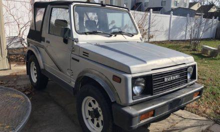 Solid Samurai – 1987 Suzuki Samurai – $7,000